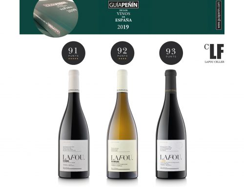 "LaFou wines receive over 91 points in the wine guide- Guía Peñín 2019 – and attend a fair to showcase Spain's top wines – ""XIX Salón de los Mejores Vinos"""
