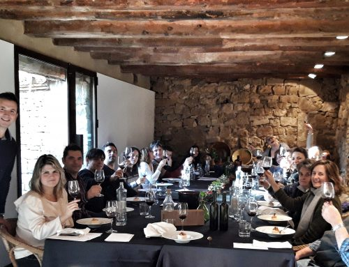 "The LaFou Winery welcomes in the autumn season by pairing seasonal cuisine with Lafou wines at an event called  ""Maridatge de Tardor"""