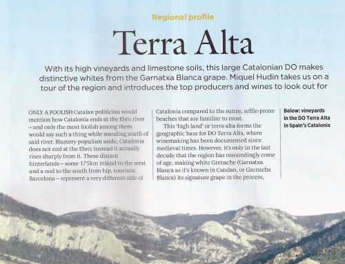 Decanter Magazine includes LaFou Els Amelers and LaFou de Batea among its 9 favorite wines from the Terra Alta region